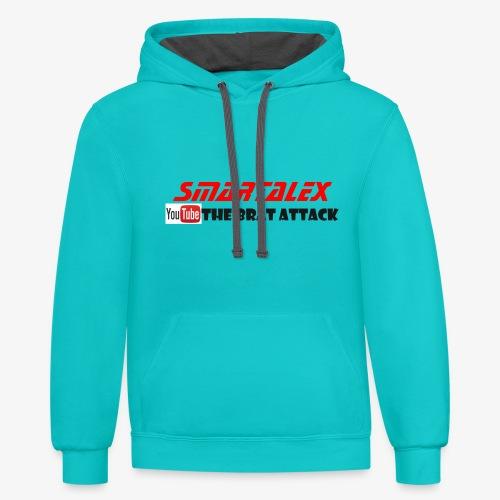 merch smart alex - Unisex Contrast Hoodie