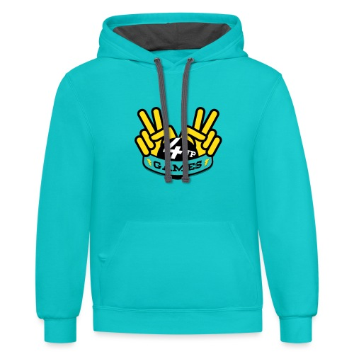 4UP Double Victory - Contrast Hoodie