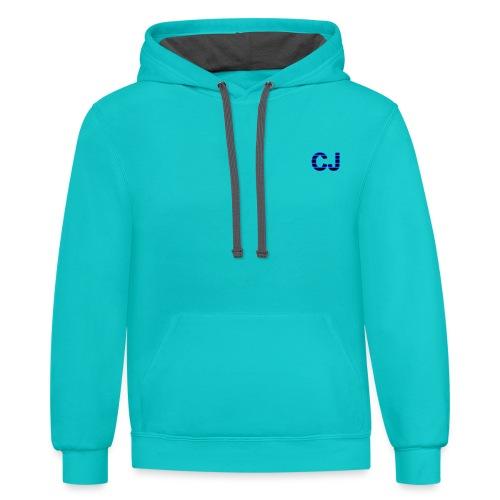 CJ spaces - Contrast Hoodie