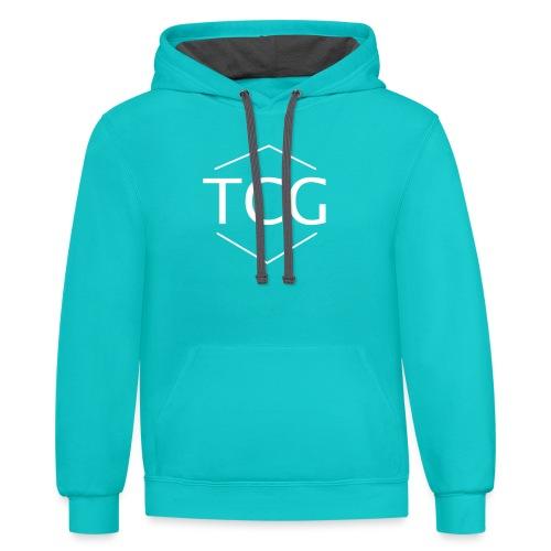 Simple Tcg hoodie - Contrast Hoodie