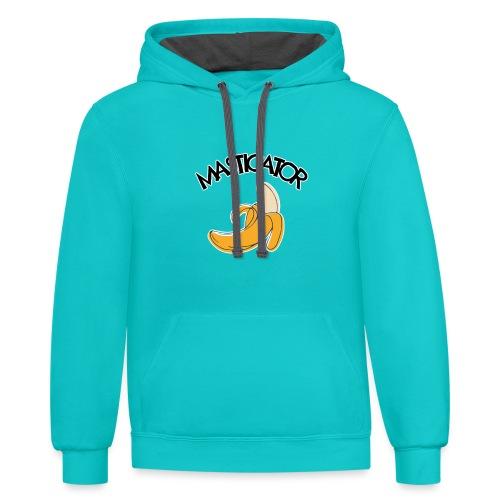 Masticator - Unisex Contrast Hoodie