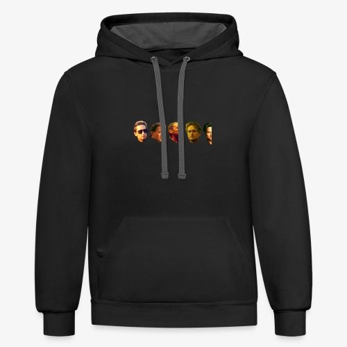4 and 1/2 Douglases - Unisex Contrast Hoodie