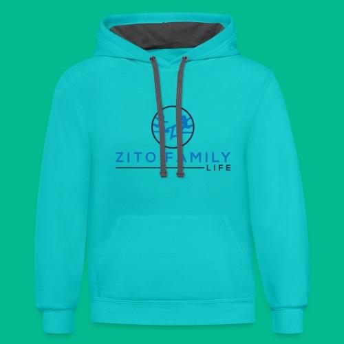 Zito Twins Shop - Unisex Contrast Hoodie