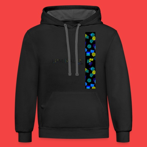 Zero gravity color - Contrast Hoodie