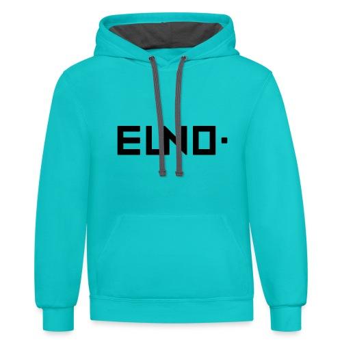 EUNO Apperals 2 - Contrast Hoodie