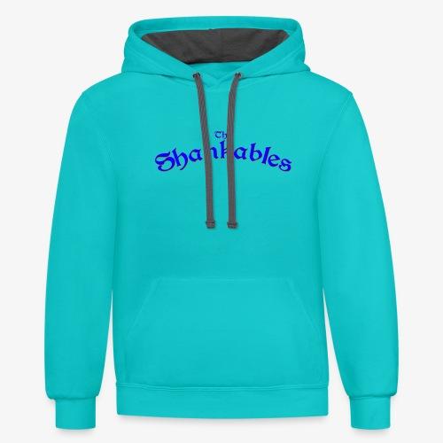 The Shankables Logo - Unisex Contrast Hoodie