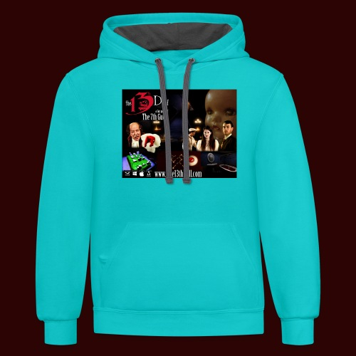 The 13th Doll Cast and Puzzles - Contrast Hoodie