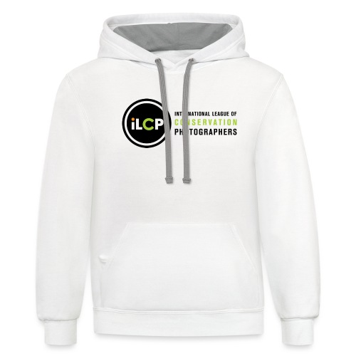 iLCP logo horizontal RGB png - Contrast Hoodie