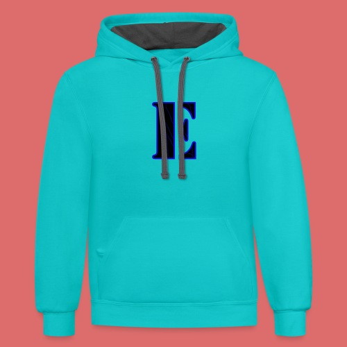 Limited Edition E logo - Unisex Contrast Hoodie