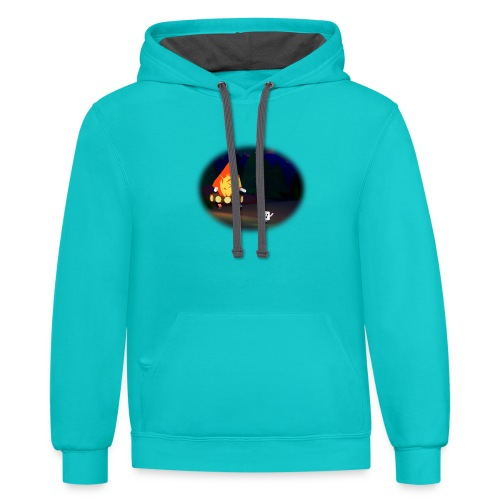 'Round the Campfire - Contrast Hoodie