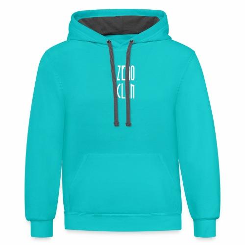 ZerO clan T-shirt - Unisex Contrast Hoodie