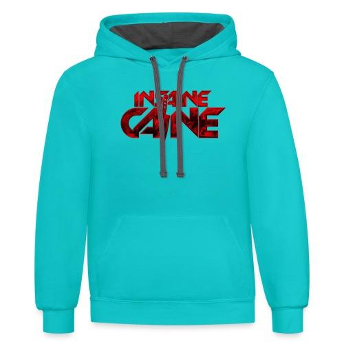 Insaine Caine - The Logo - Drop 2 - Contrast Hoodie