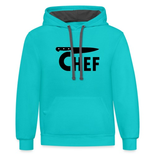 myChef 1 - Contrast Hoodie
