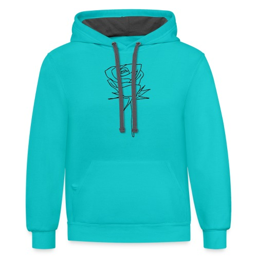 Dom Gooden Rose Selection - Unisex Contrast Hoodie