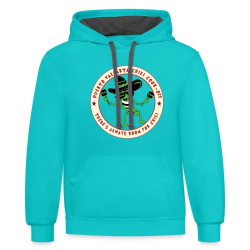 There's Always Room For Chili - Unisex Contrast Hoodie