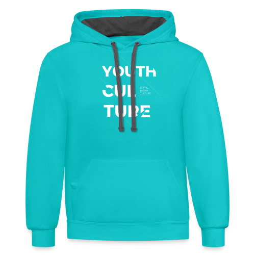 Youth Culture - Contrast Hoodie