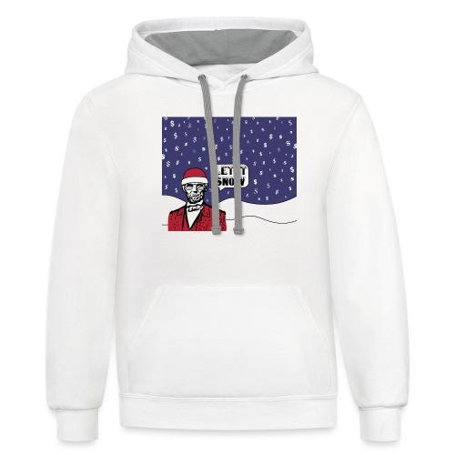 Let It Snow - Contrast Hoodie