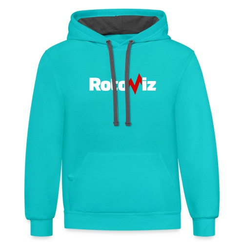 RotoViz - Unisex Contrast Hoodie