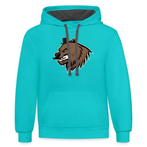 Bearskin 2020 Logo - Contrast Hoodie