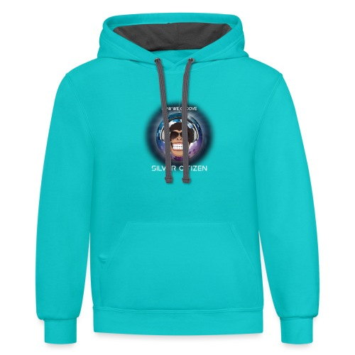 New we groove t-shirt design - Unisex Contrast Hoodie