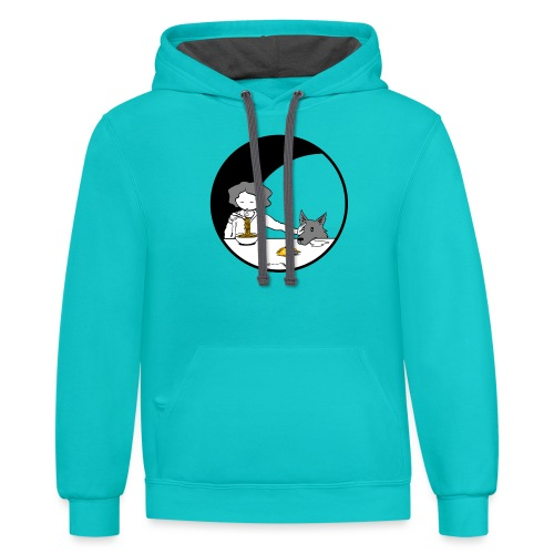 Not For Puppies - Unisex Contrast Hoodie