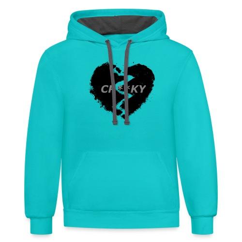HeartBrake - Contrast Hoodie