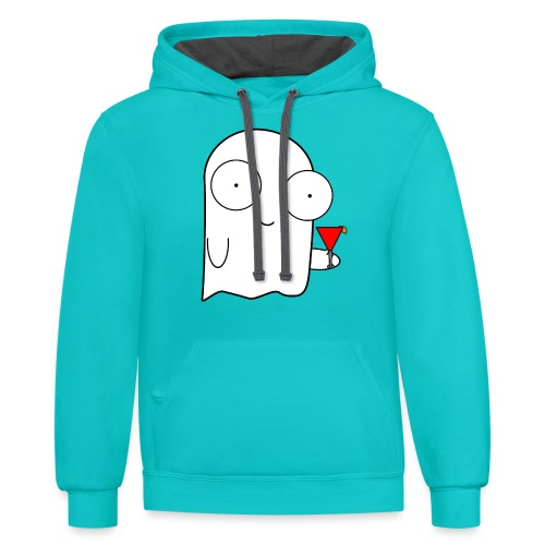 Shyly - Contrast Hoodie