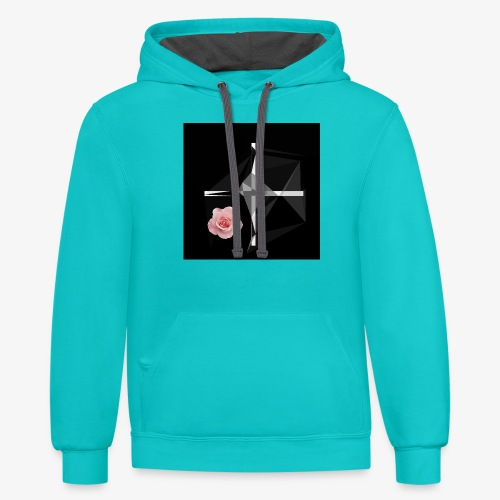 Roses and their thorns - Contrast Hoodie