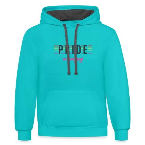 Pride Winnipeg - Contrast Hoodie