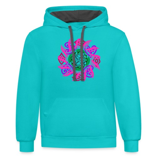 Theirhappy design - Contrast Hoodie