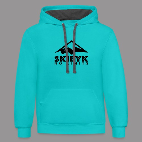 SkiByk No Limits - Unisex Contrast Hoodie