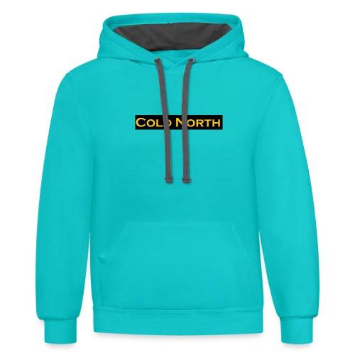 Special limited edition ColdNorth Tag. - Unisex Contrast Hoodie