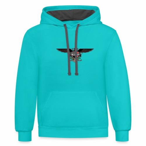 Dane Calloway American Thunderbird Logo - Unisex Contrast Hoodie