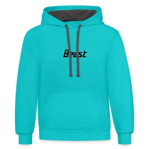 BEAST - Unisex Contrast Hoodie