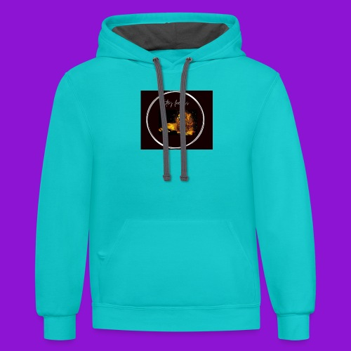 Monzi fearless collection - Unisex Contrast Hoodie