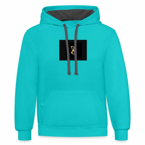 ZS - Contrast Hoodie
