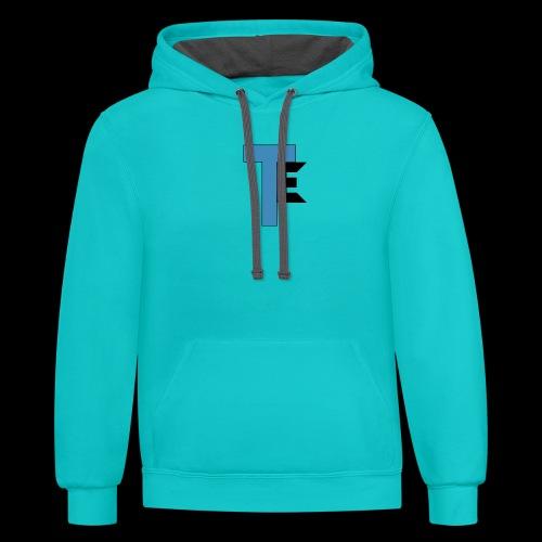 The Second Team Exelfiny Logo - Unisex Contrast Hoodie