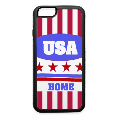 US Flag case - iPhone 6/6s Rubber Case