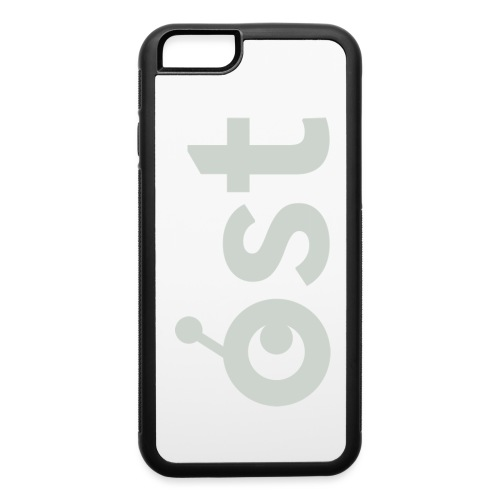 ost logo in grey - iPhone 6/6s Rubber Case