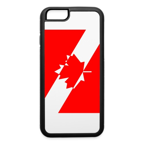 Clear White Dive Canada v. Small - iPhone 6/6s Rubber Case