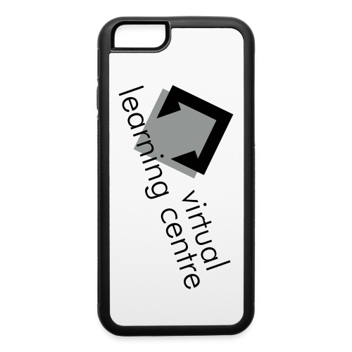 vlc_full_login_bw - iPhone 6/6s Rubber Case