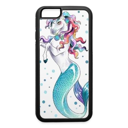 unicorn mermaid - iPhone 6/6s Rubber Case