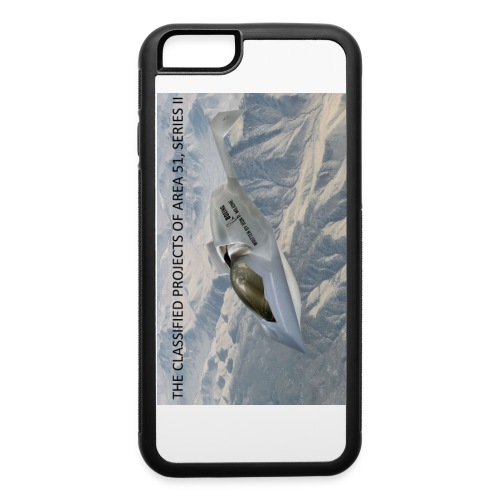 THE CLASSIFIED PROJECTS OF AREA 51 - iPhone 6/6s Rubber Case