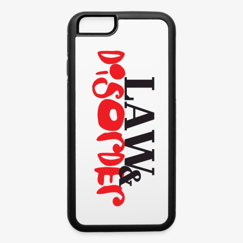 Law DISORDER Logo - iPhone 6/6s Rubber Case