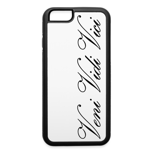 Zyzz Veni Vidi Vici Calli text - iPhone 6/6s Rubber Case