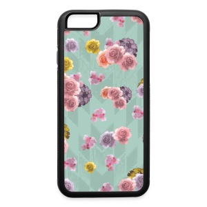 Floral Graphic Pattern1 - iPhone 6/6s Rubber Case