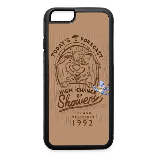 Splash Wood - iPhone 6/6s Rubber Case