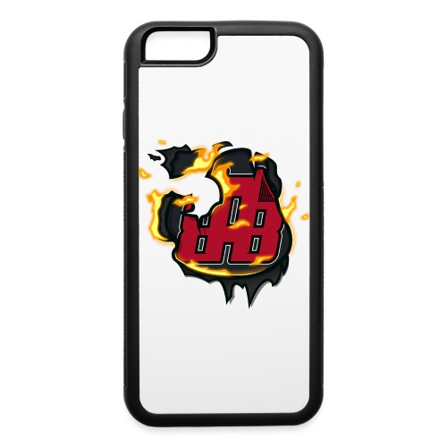 BAB Logo on FIRE! - iPhone 6/6s Rubber Case