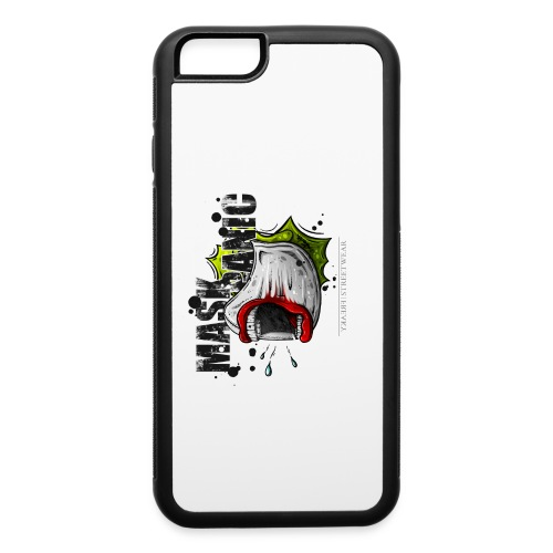 mask panic - iPhone 6/6s Rubber Case