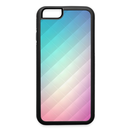 Abstract Rainbow Pattern Case - iPhone 6/6s Rubber Case